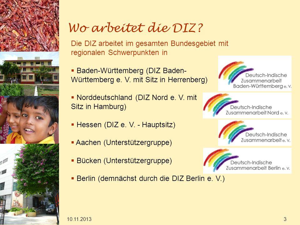 Wo arbeitet die DIZ Die DIZ arbeitet im gesamten Bundesgebiet mit regionalen Schwerpunkten in.