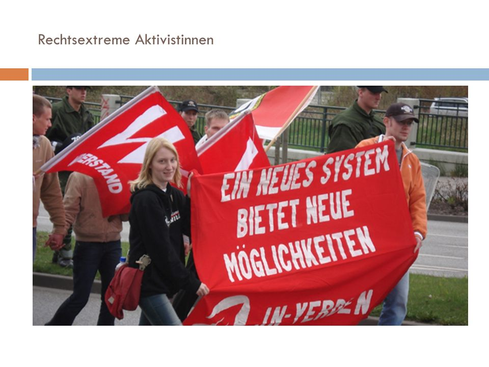 Rechtsextreme Aktivistinnen
