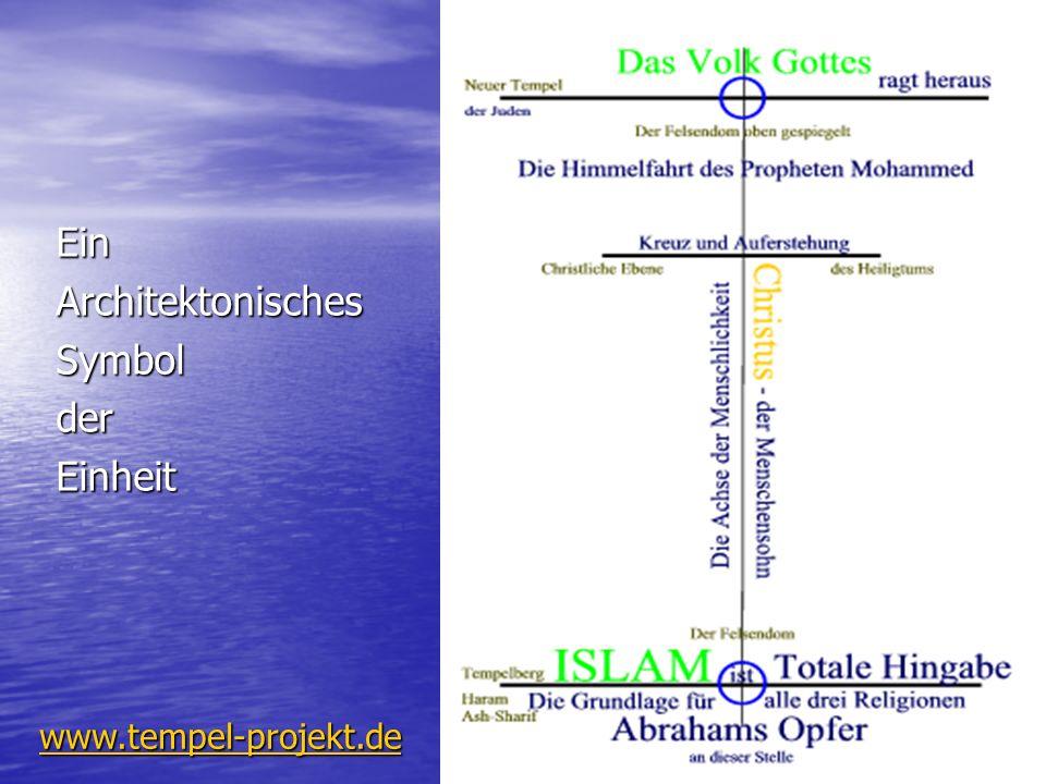 Ein Architektonisches Symbol der Einheit www.tempel-projekt.de
