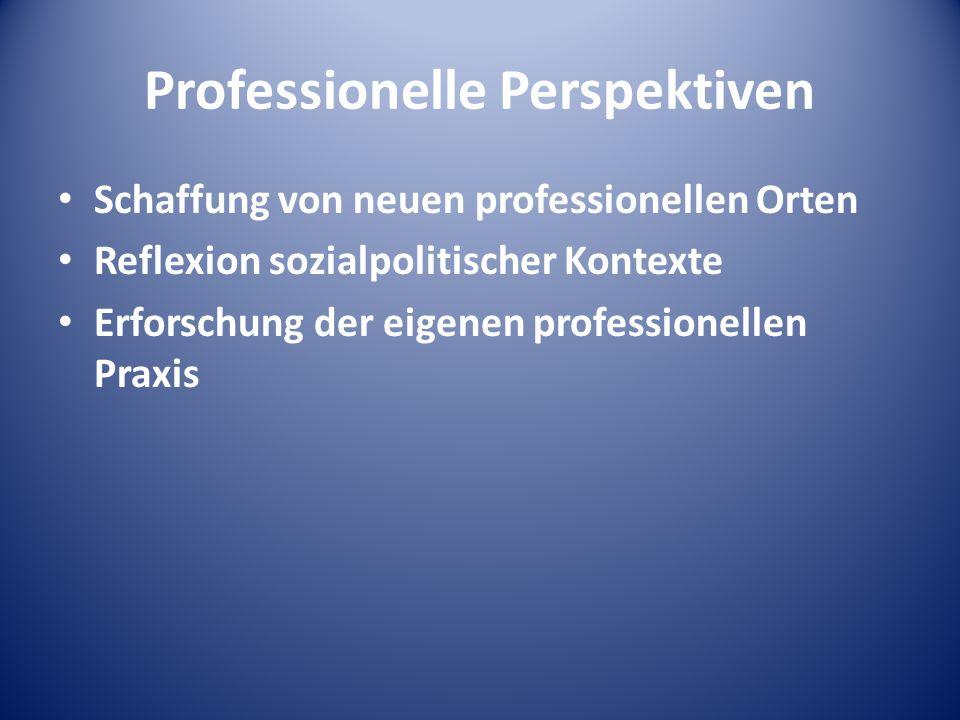 Professionelle Perspektiven