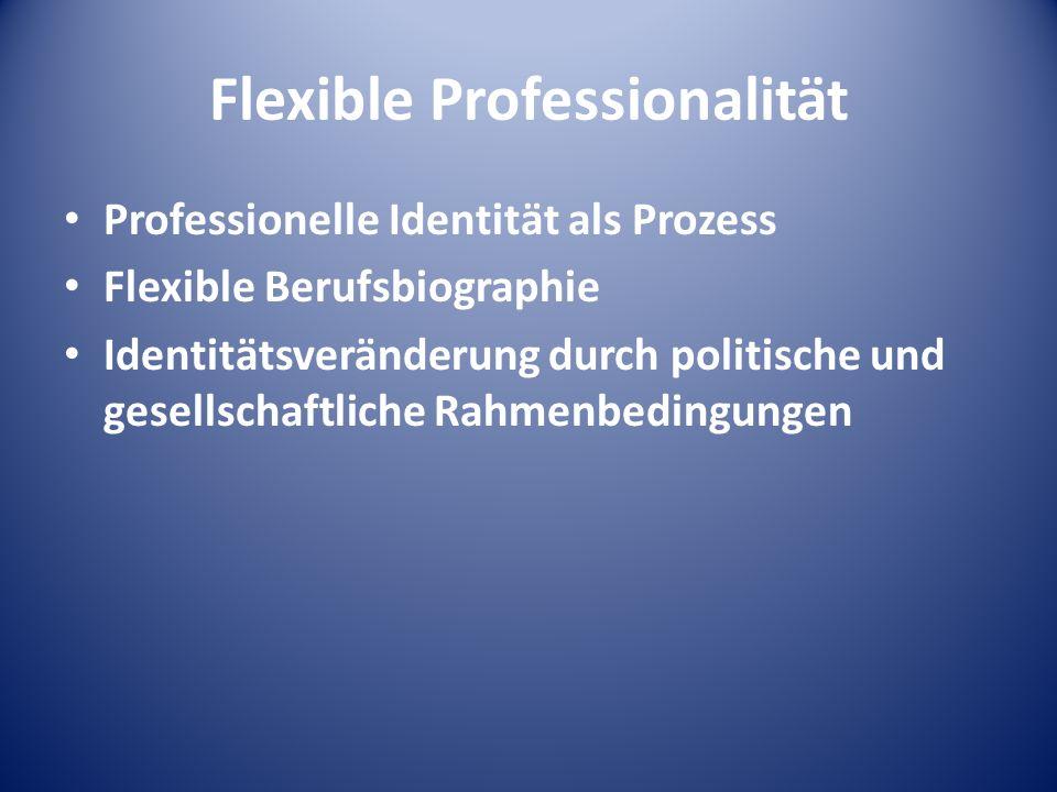 Flexible Professionalität