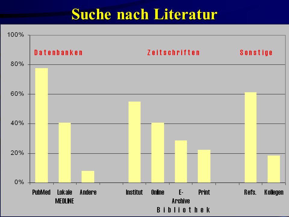 Suche nach Literatur