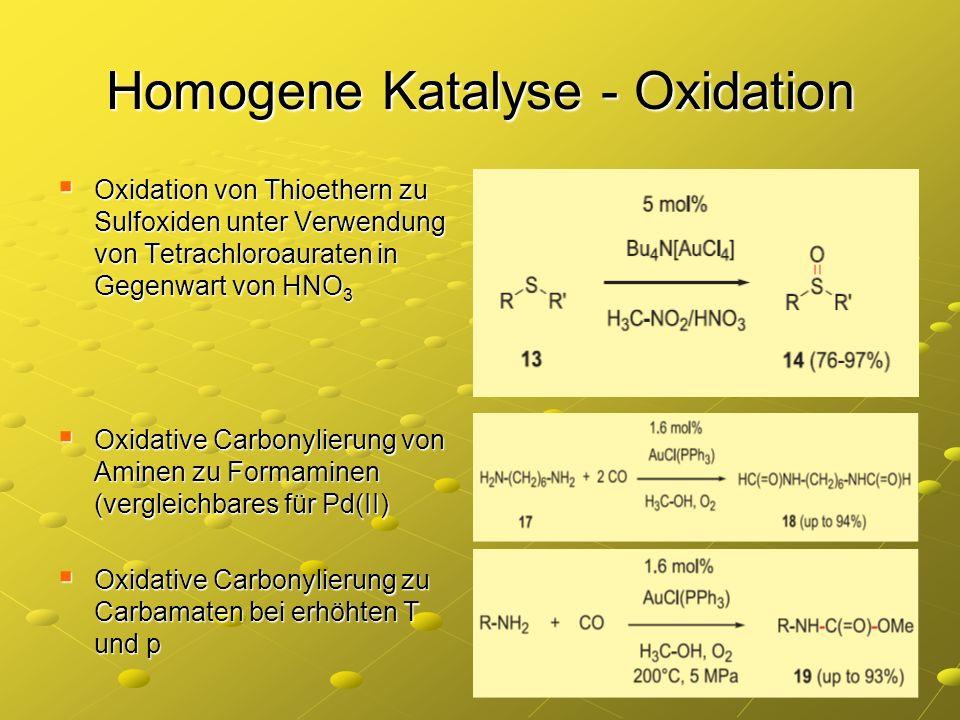 Homogene Katalyse - Oxidation