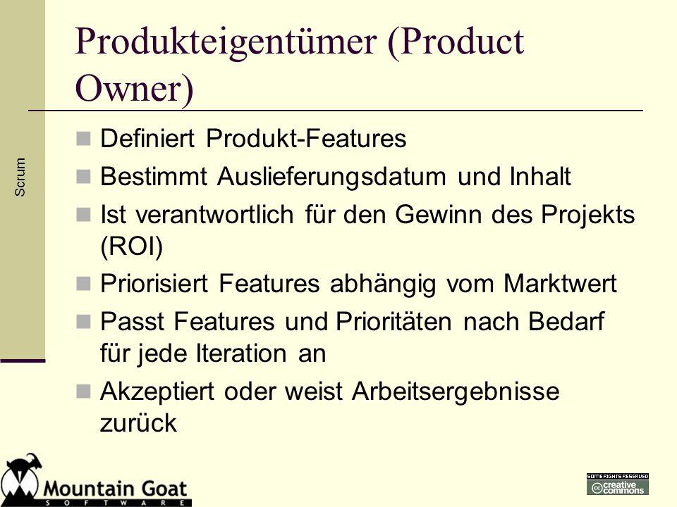 Produkteigentümer (Product Owner)