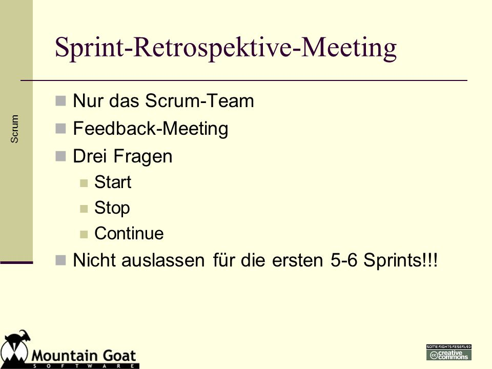 Sprint-Retrospektive-Meeting