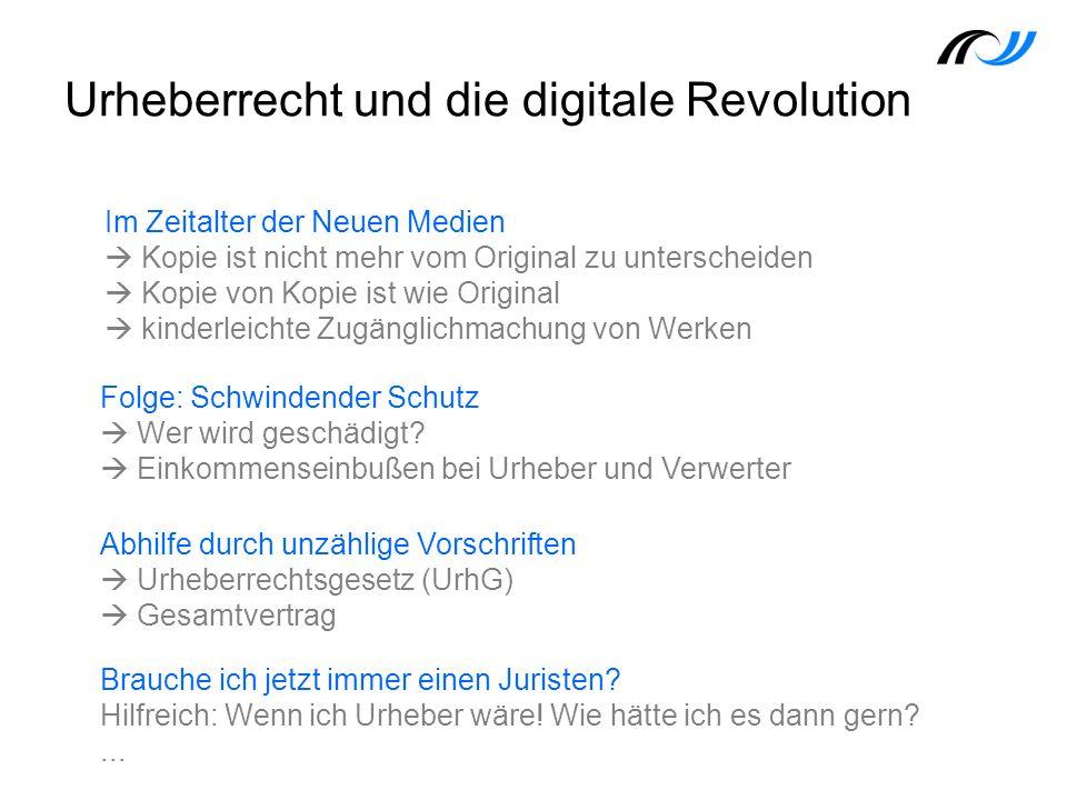 Urheberrecht und die digitale Revolution