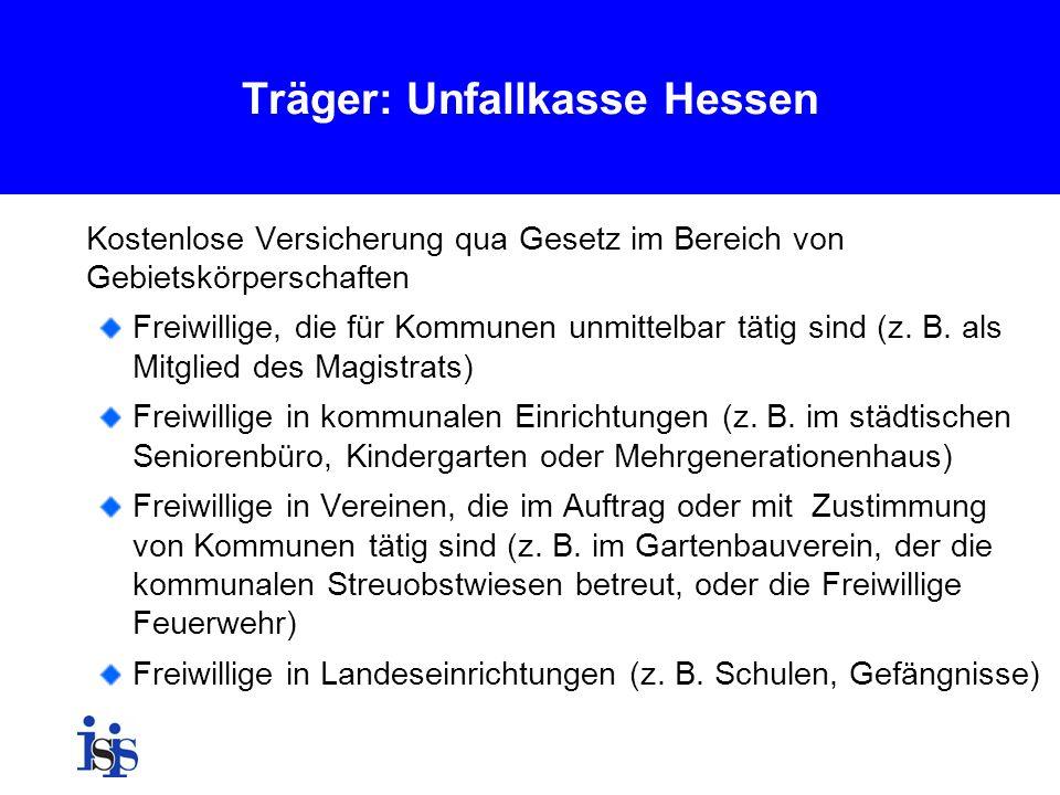 Träger: Unfallkasse Hessen