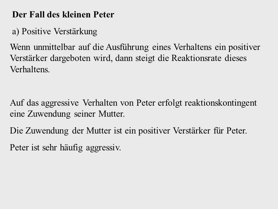 Der Fall des kleinen Peter