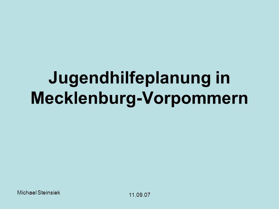 Jugendhilfeplanung in Mecklenburg-Vorpommern