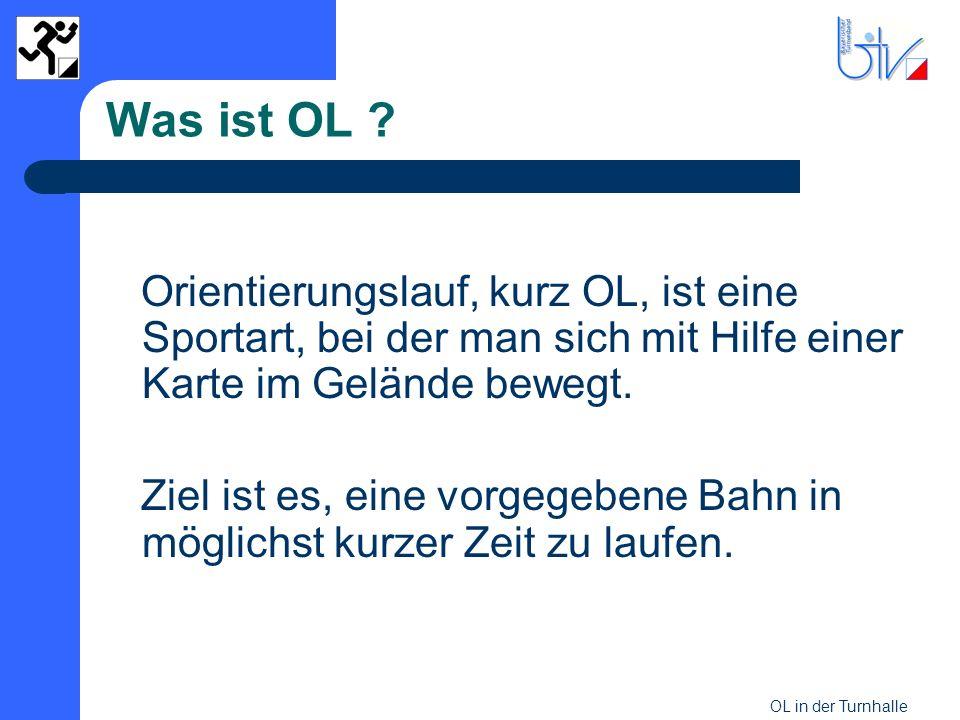 Was ist OL Orientierungslauf, kurz OL, ist eine Sportart, bei der man sich mit Hilfe einer Karte im Gelände bewegt.
