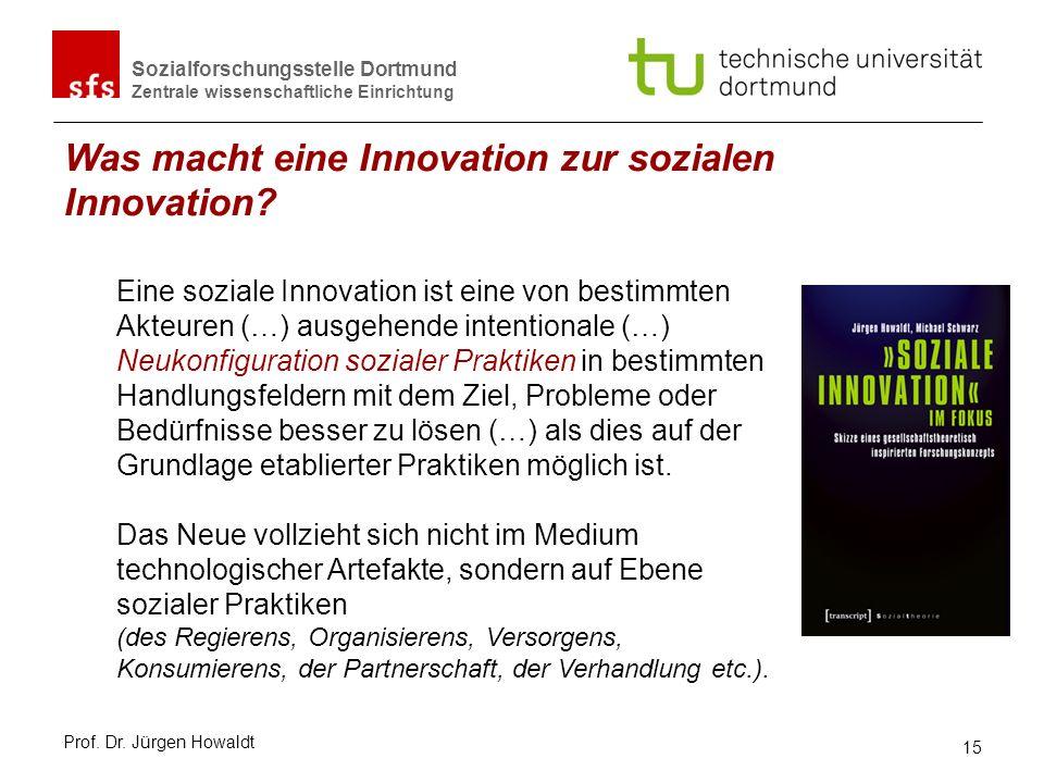 Was macht eine Innovation zur sozialen Innovation