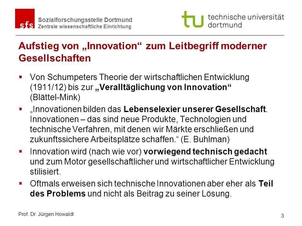 """Aufstieg von """"Innovation zum Leitbegriff moderner Gesellschaften"""