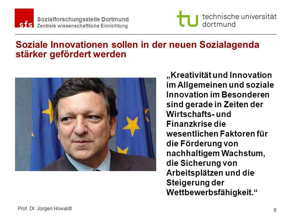 Soziale Innovationen sollen in der neuen Sozialagenda stärker gefördert werden