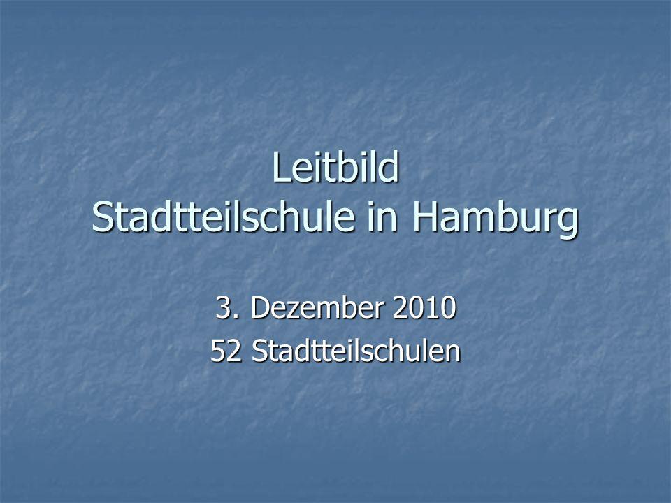 Leitbild Stadtteilschule in Hamburg