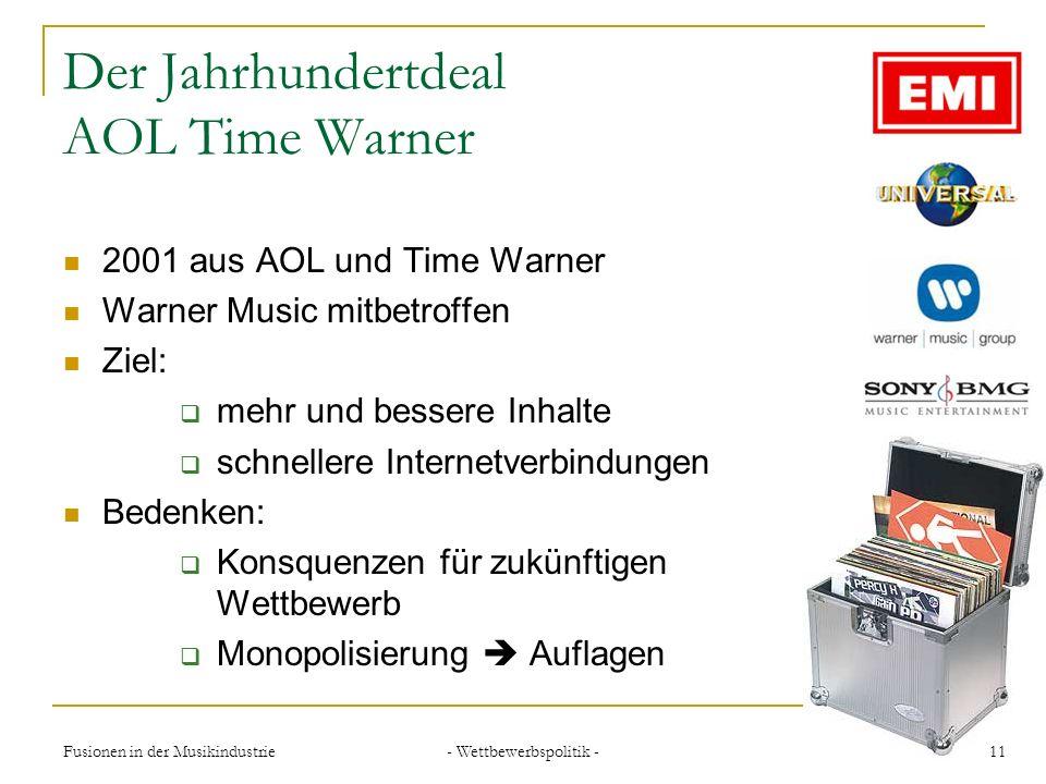 Der Jahrhundertdeal AOL Time Warner