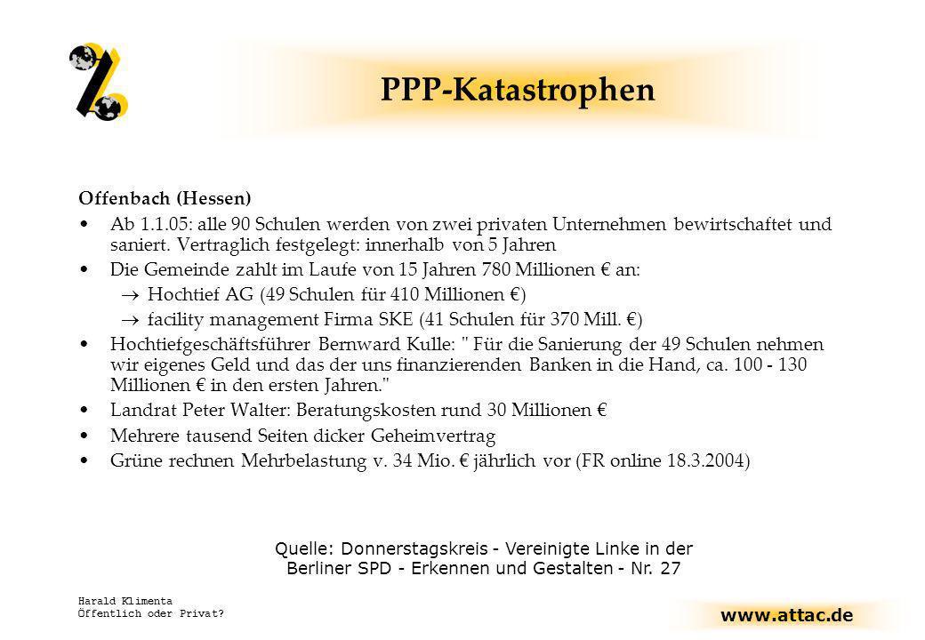 PPP-Katastrophen Offenbach (Hessen)