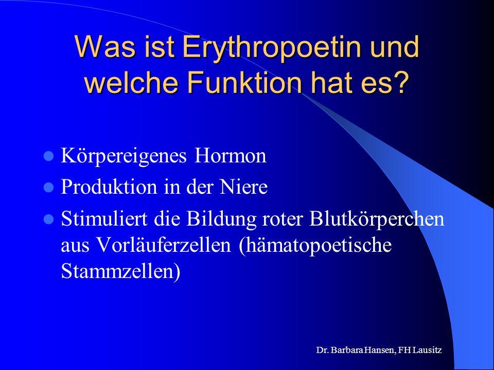 Was ist Erythropoetin und welche Funktion hat es