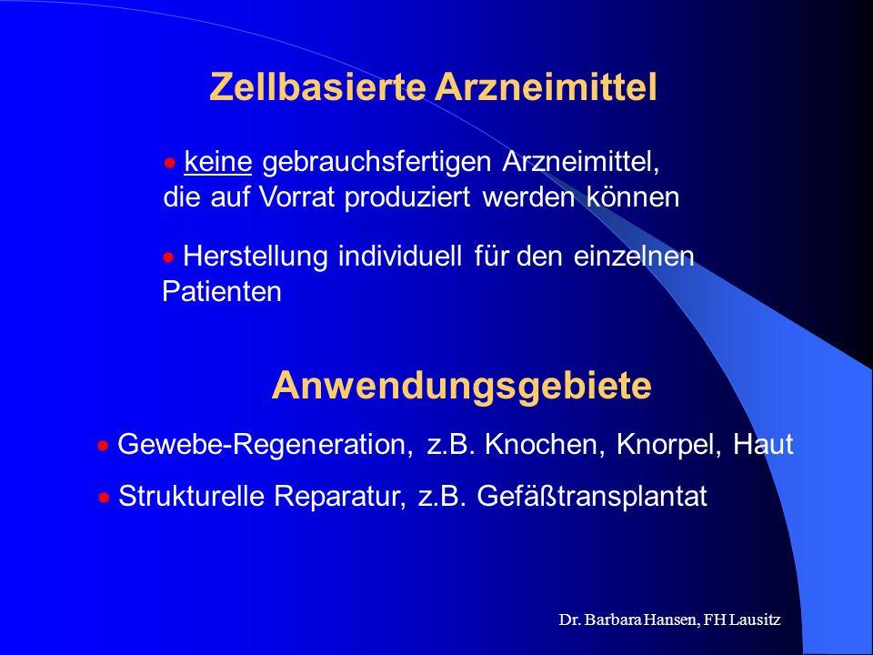 Zellbasierte Arzneimittel