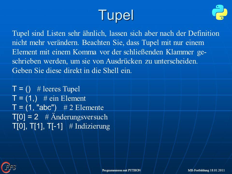 Tupel