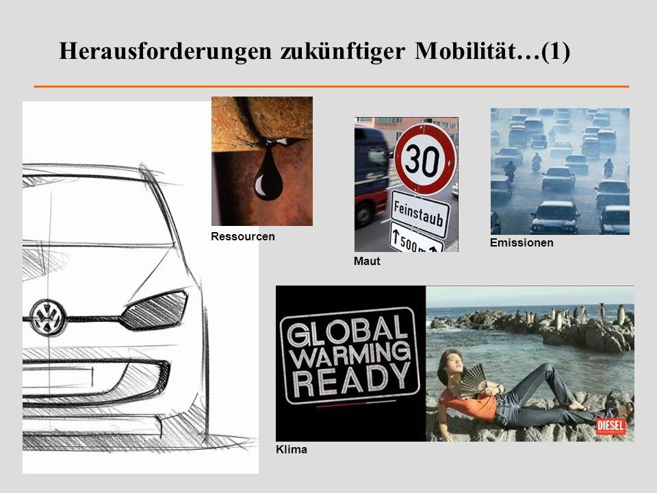 Herausforderungen zukünftiger Mobilität…(1)