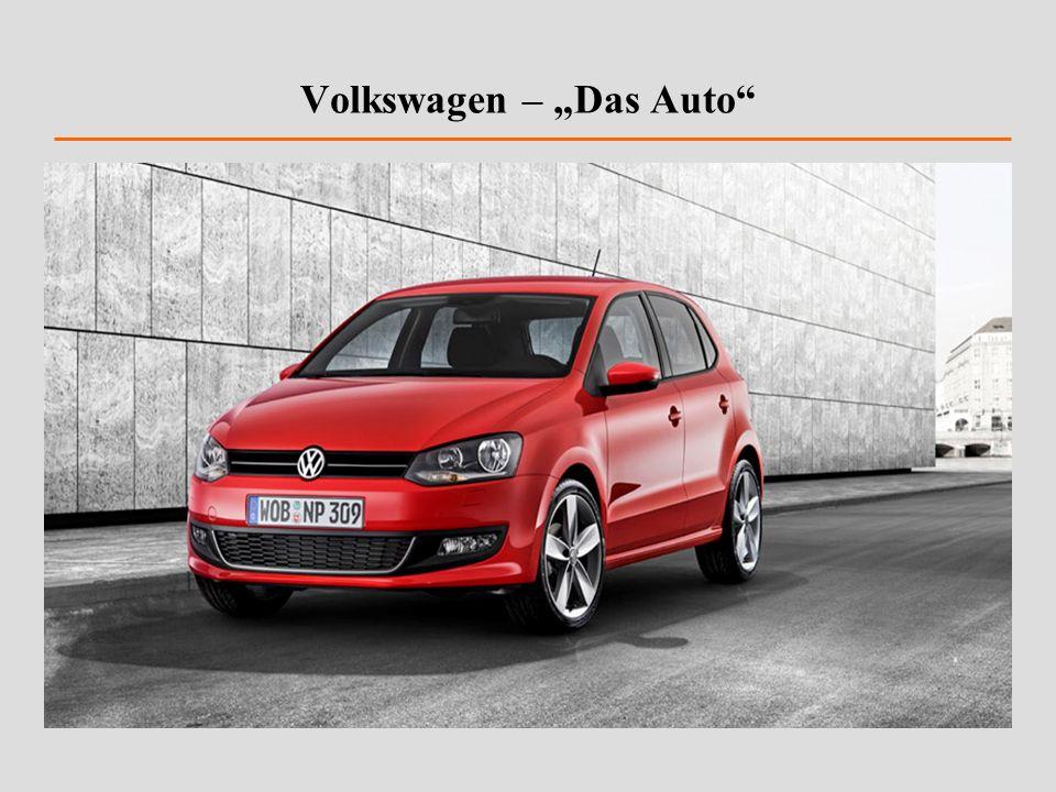 """Volkswagen – """"Das Auto"""