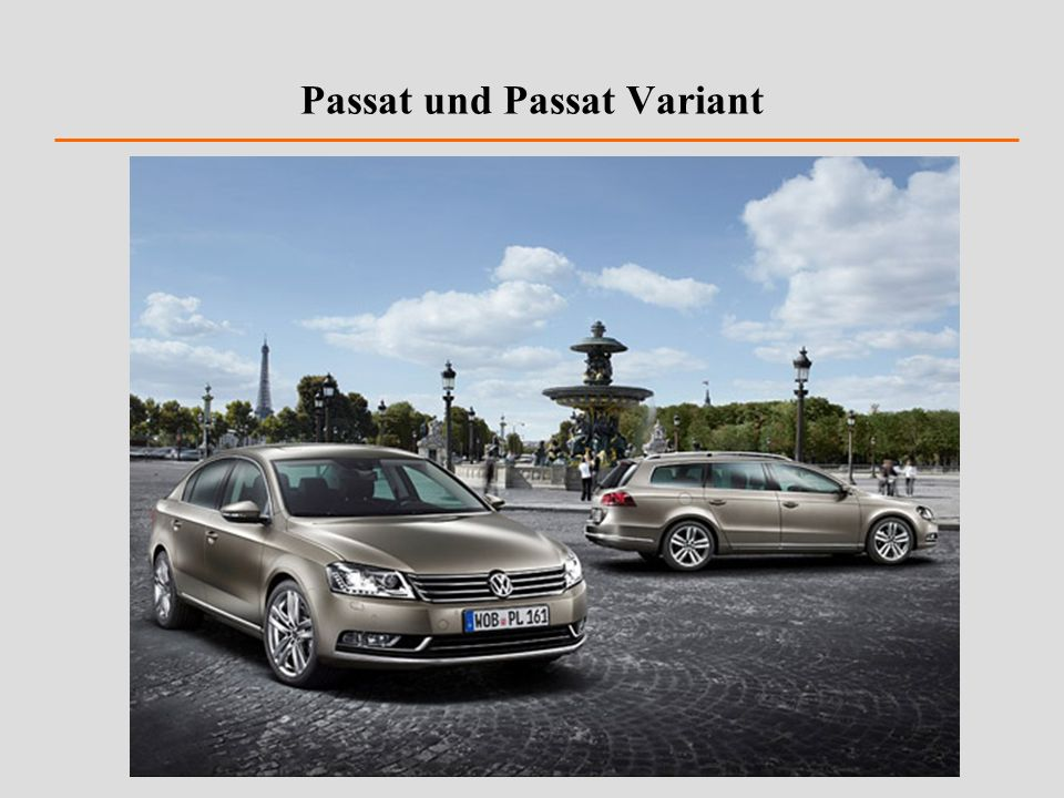 Passat und Passat Variant