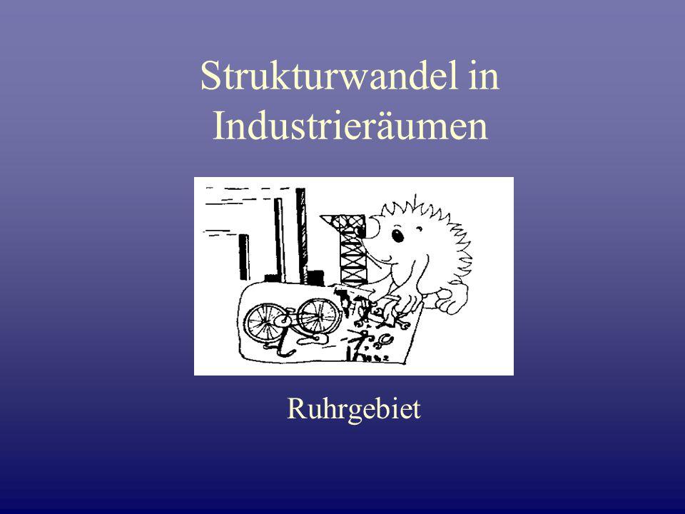 Strukturwandel in Industrieräumen