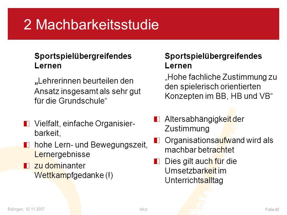 2 Machbarkeitsstudie Sportspielübergreifendes Lernen