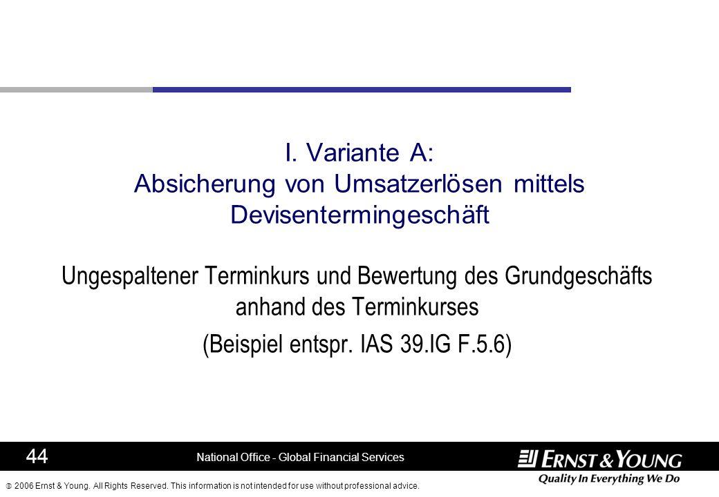 (Beispiel entspr. IAS 39.IG F.5.6)