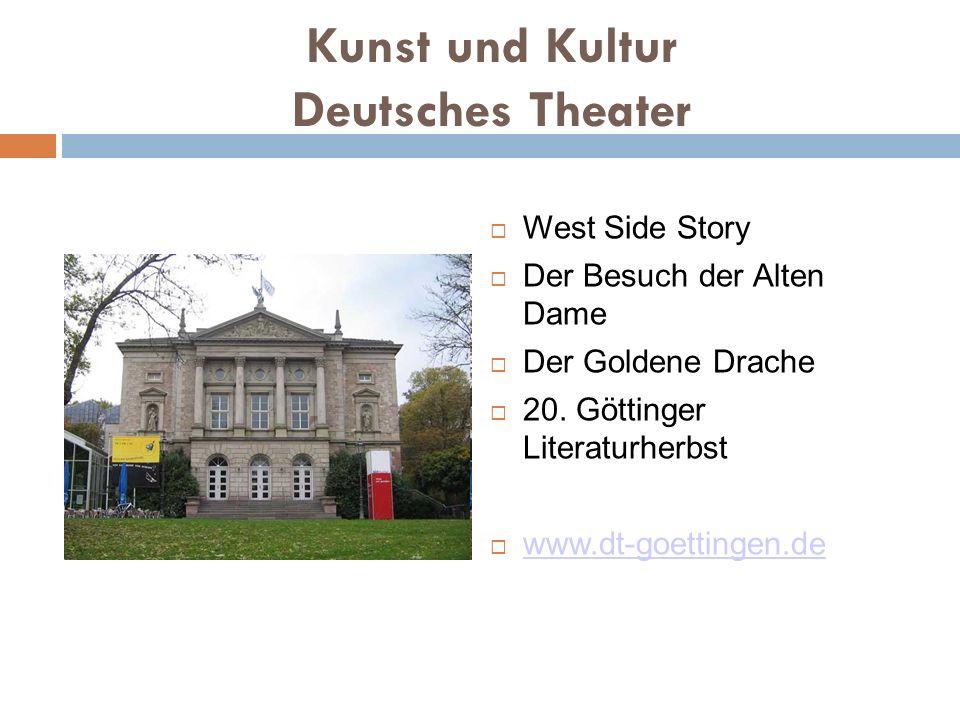 Kunst und Kultur Deutsches Theater