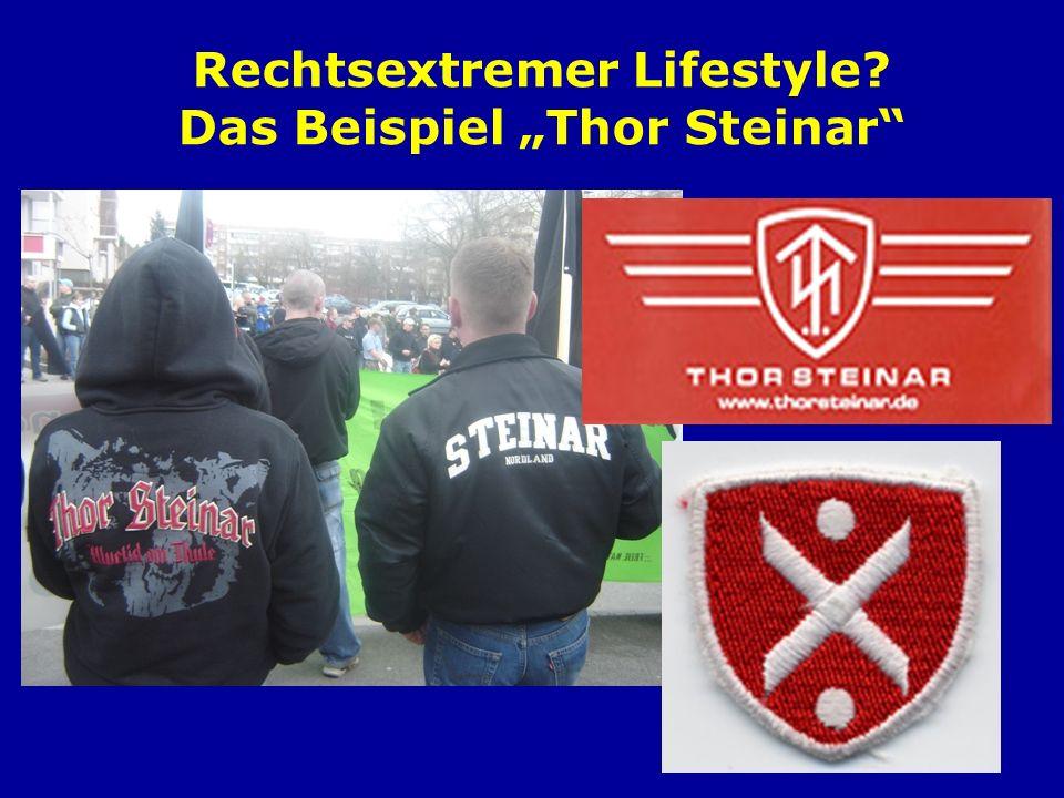"""Rechtsextremer Lifestyle Das Beispiel """"Thor Steinar"""