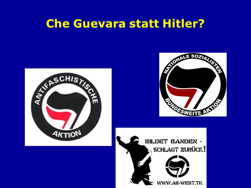 Che Guevara statt Hitler