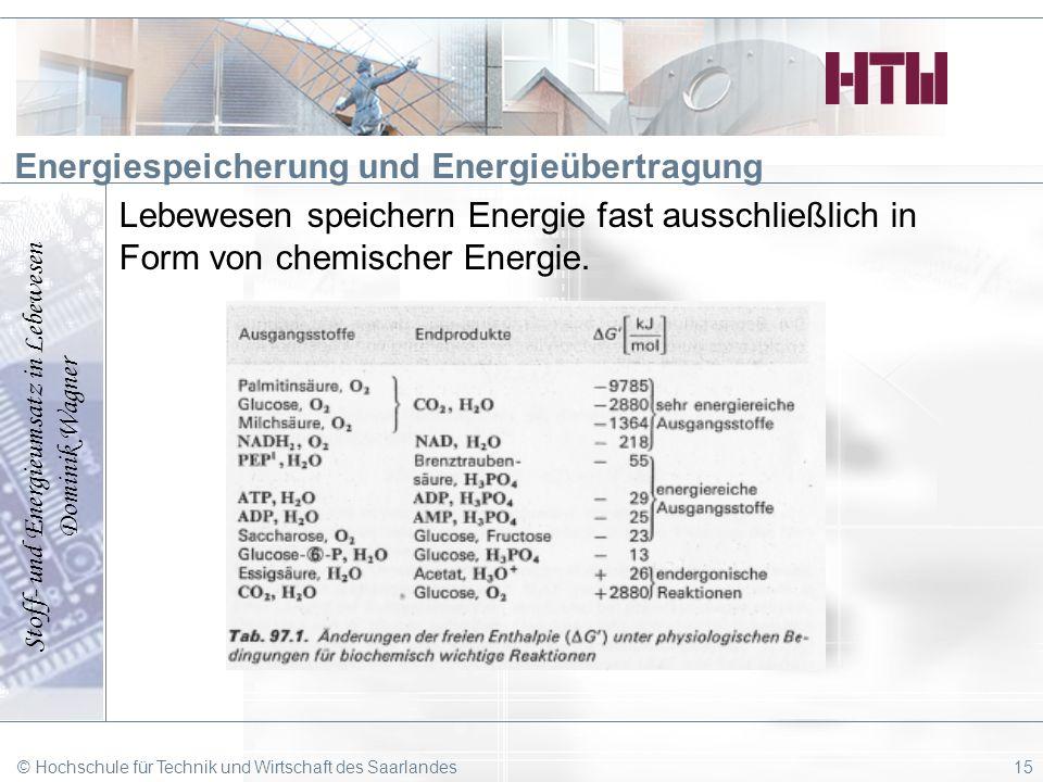 Energiespeicherung und Energieübertragung