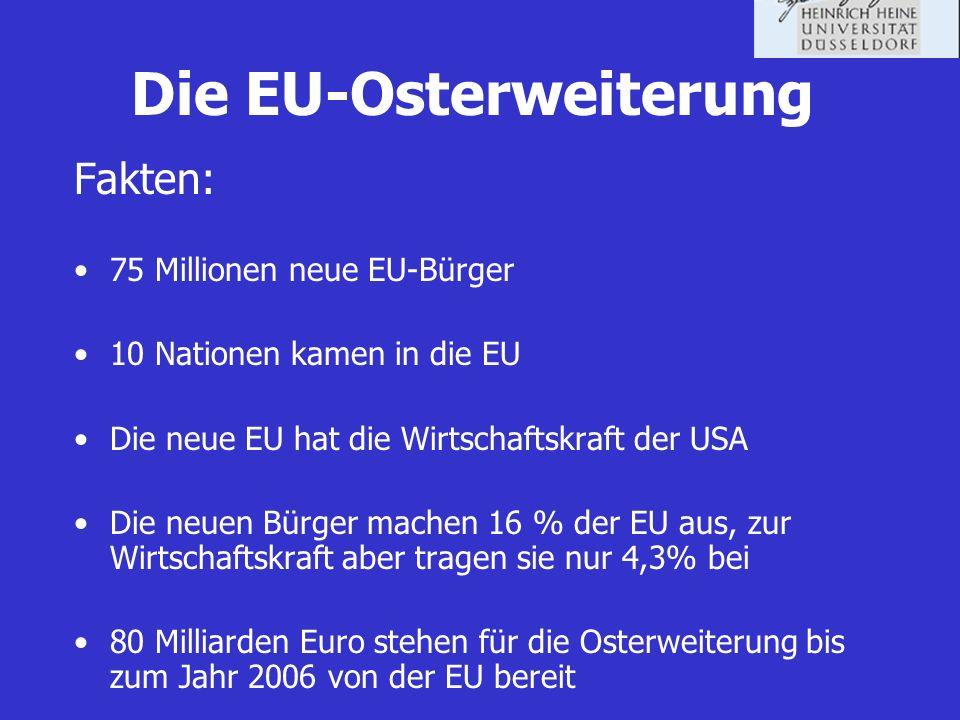 Die EU-Osterweiterung