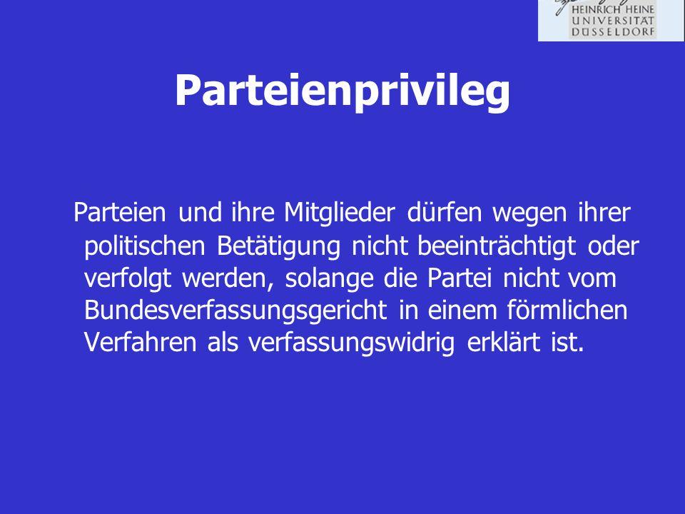 Parteienprivileg