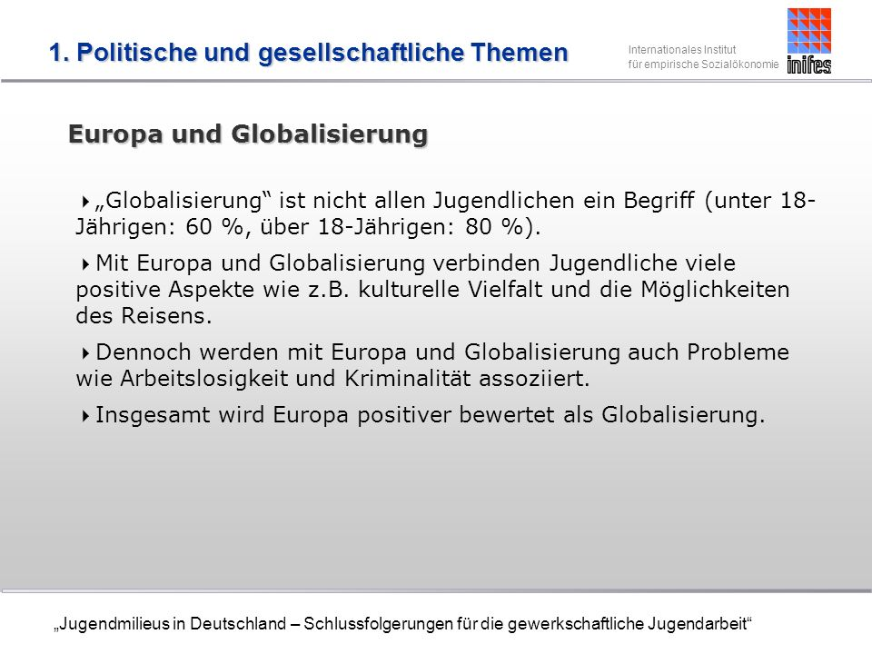 Europa und Globalisierung
