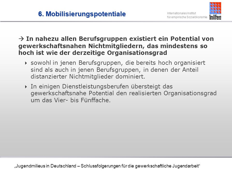 6. Mobilisierungspotentiale