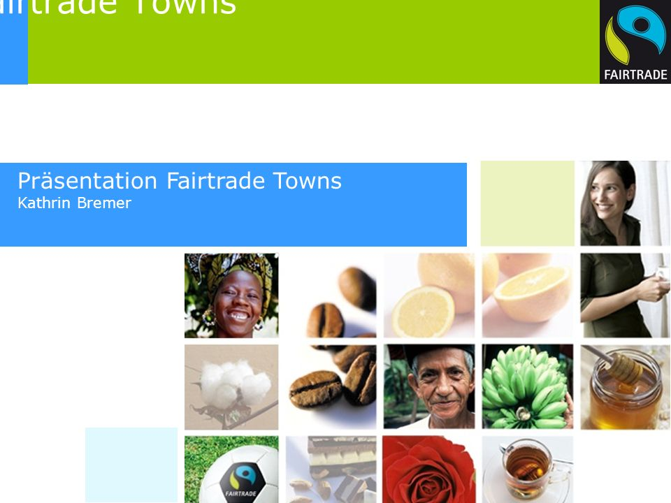 Kampagne Fairtrade Towns