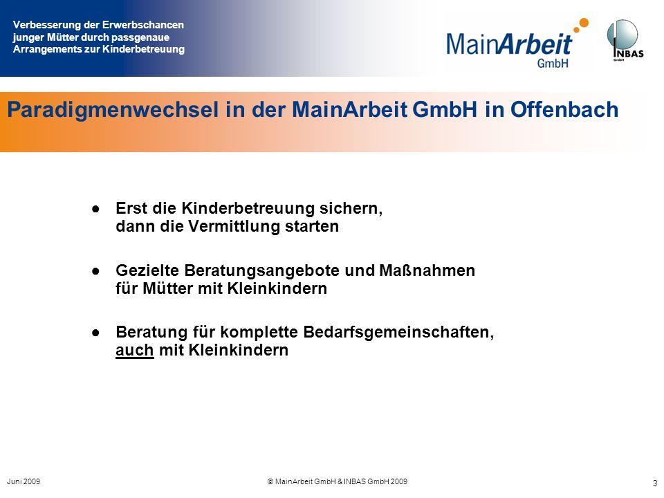 Paradigmenwechsel in der MainArbeit GmbH in Offenbach