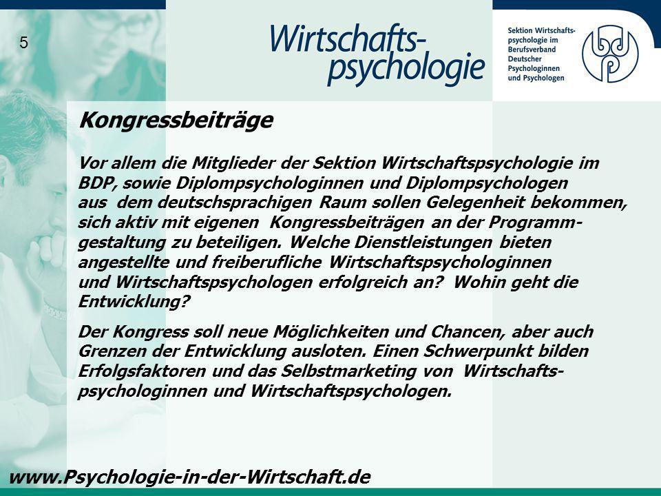 Kongressbeiträge www.Psychologie-in-der-Wirtschaft.de 5