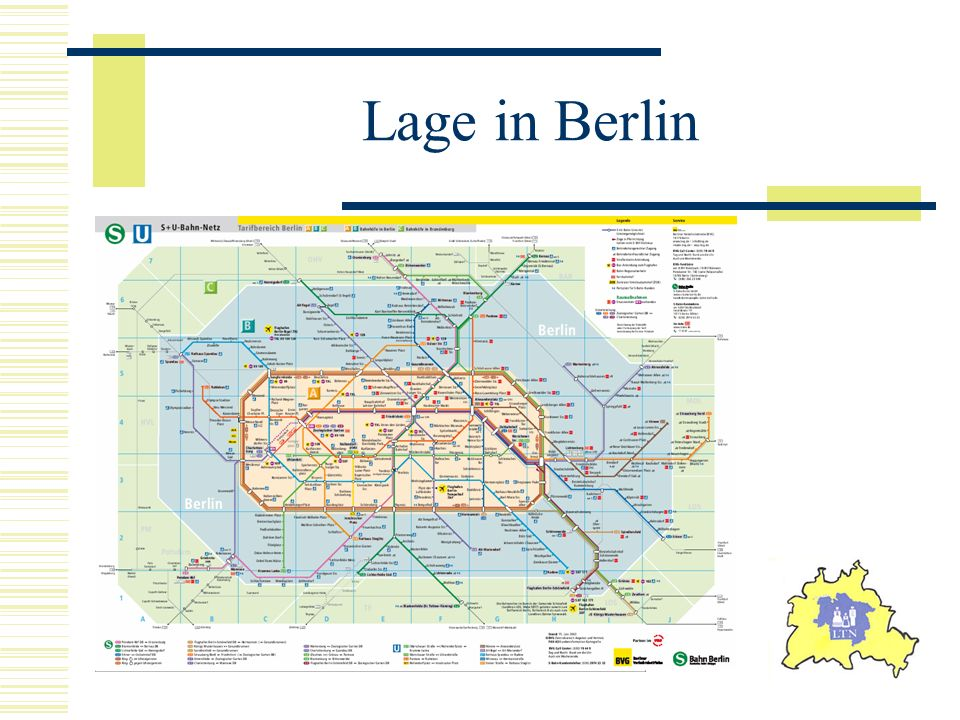 Lage in Berlin