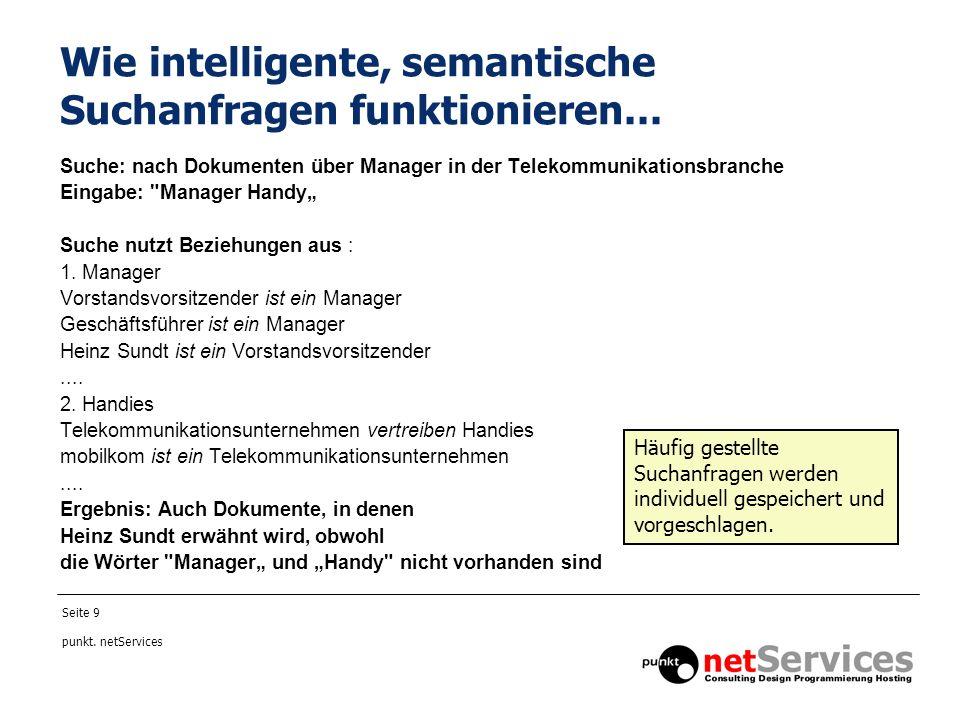 Wie intelligente, semantische Suchanfragen funktionieren...