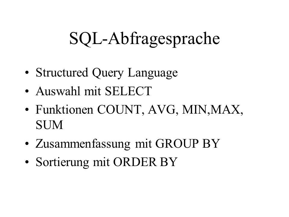 Beispiele zu Kap. 3.2.1. (Mertens 6. Auflage)