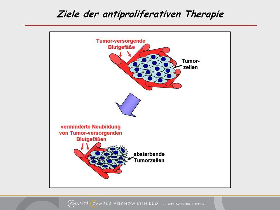 Ziele der antiproliferativen Therapie