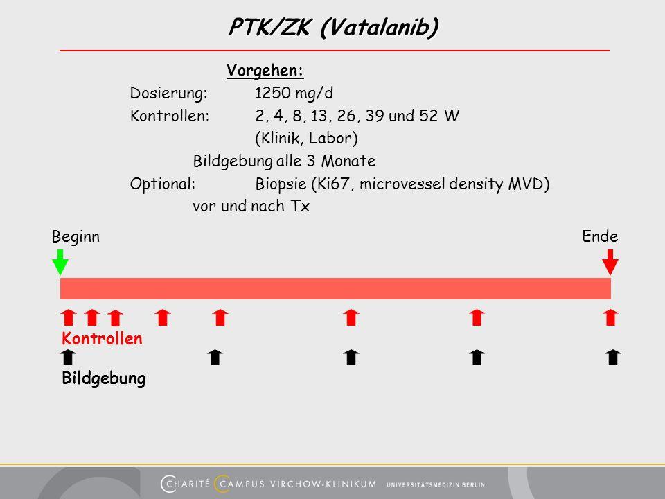 PTK/ZK (Vatalanib) Kontrollen Bildgebung Vorgehen: