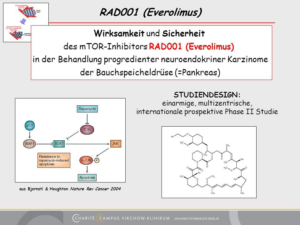 RAD001 (Everolimus) Wirksamkeit und Sicherheit
