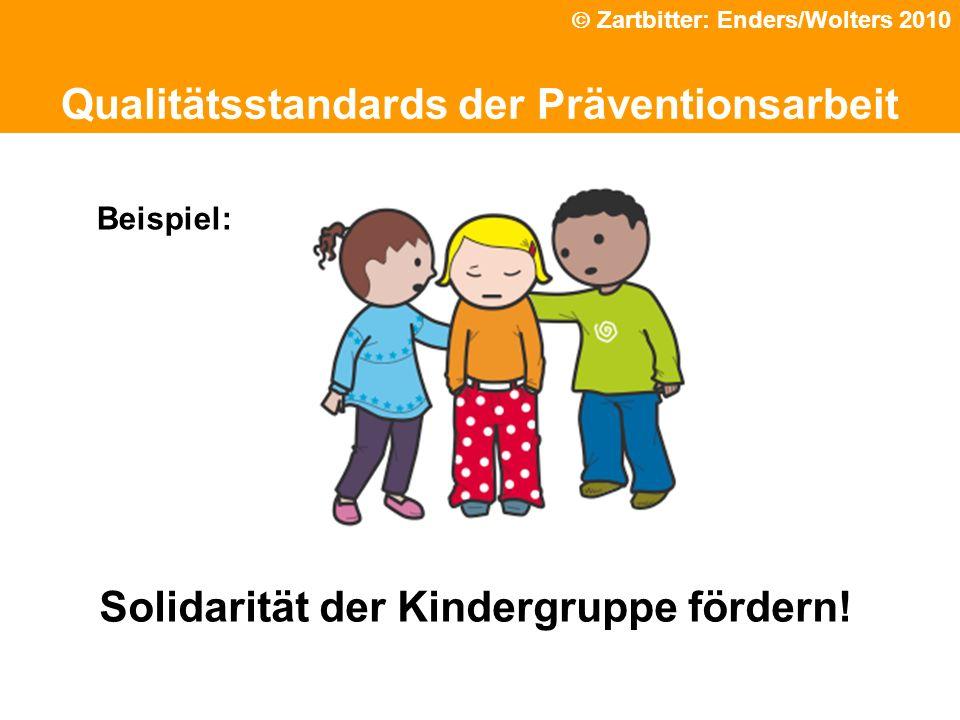 Solidarität der Kindergruppe fördern!