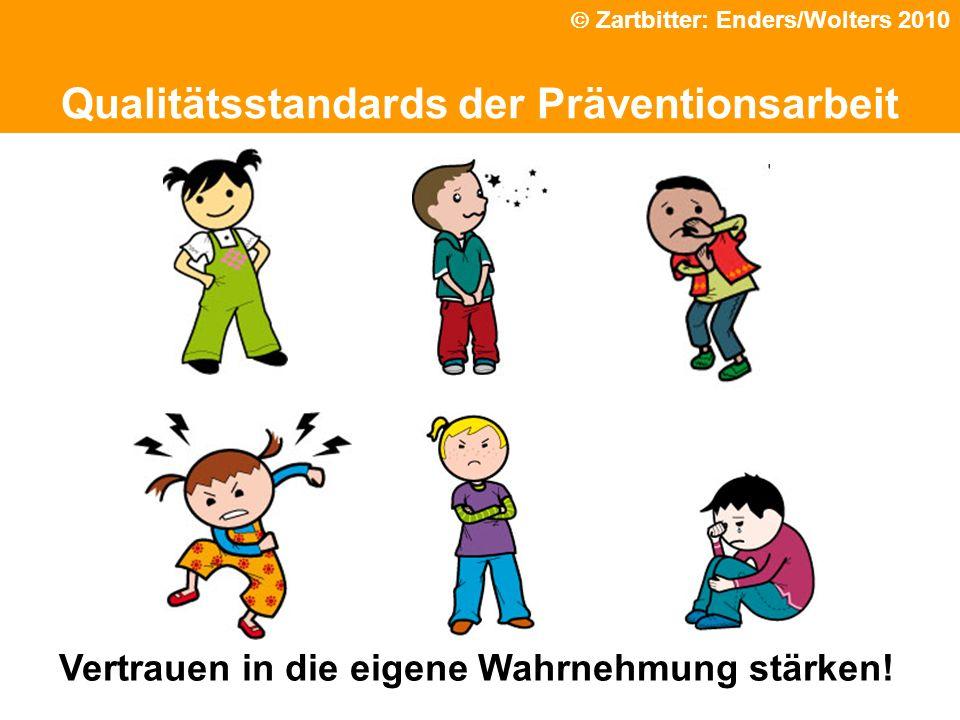 Qualitätsstandards der Präventionsarbeit