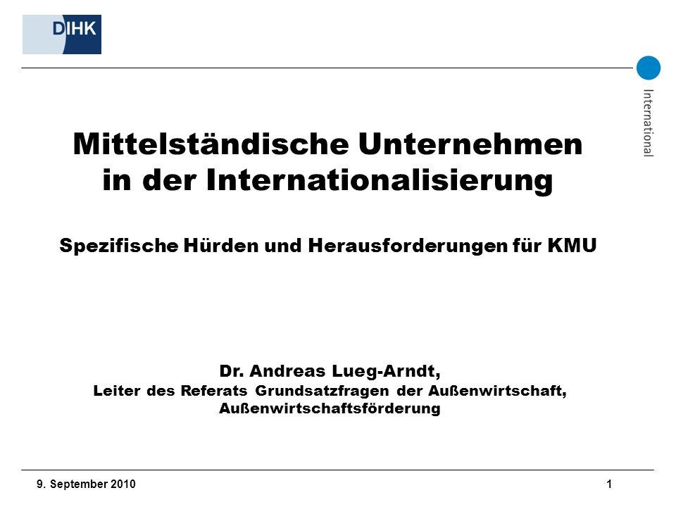 Mittelständische Unternehmen in der Internationalisierung