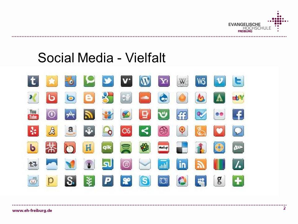 Social Media - Vielfalt
